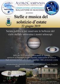 Stelle e musica del solstizio d'estate
