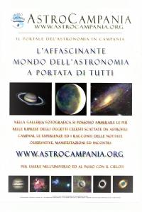 """Osservatorio Astronomico """"Salvatore Di Giacomo"""" -  CALENDARIO DATE AGGIORNATE"""