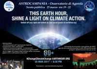 Osservatorio Astronomico - Earth Hour - 25 MARZO 2017