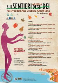 Festival Sui Sentieri Degli Dei in autunno
